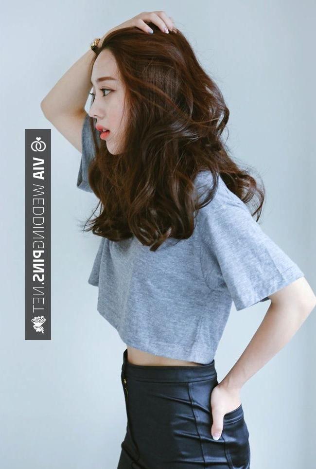 Best 25+ Korean Medium Hairstyles Ideas On Pinterest | Korean Hair For Asian Hairstyles For Medium Hair (View 6 of 20)