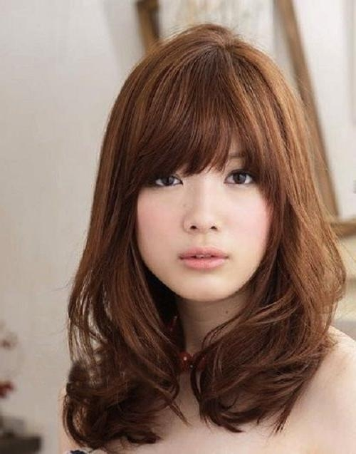 Best 25+ Korean Medium Hairstyles Ideas On Pinterest | Korean Hair Inside Medium Korean Haircuts (View 8 of 20)