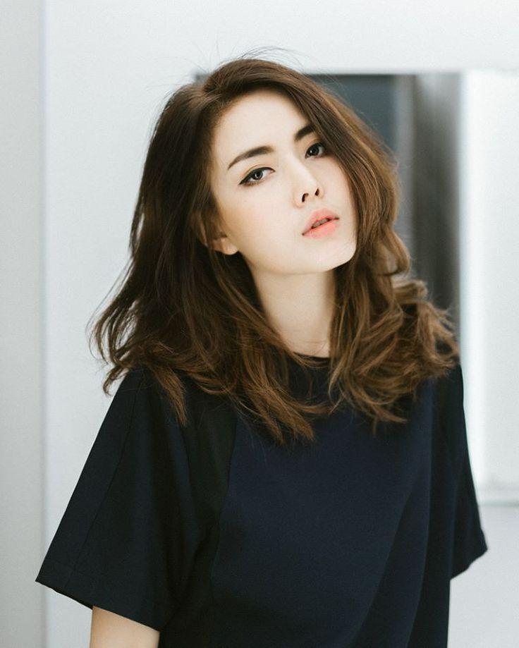 Best 25+ Korean Perm Ideas On Pinterest | Asian Perm, Asian Hair For Chinese Hairstyles For Medium Hair (View 10 of 20)