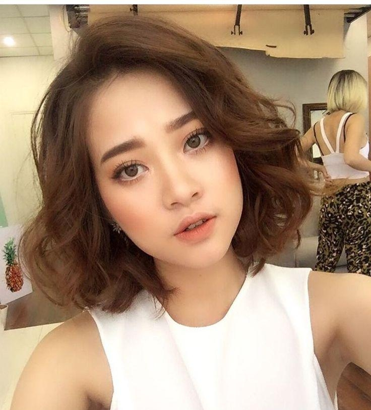 Best 25+ Korean Perm Ideas On Pinterest | Asian Perm, Asian Hair Throughout Short Wavy Asian Hairstyles (View 9 of 20)