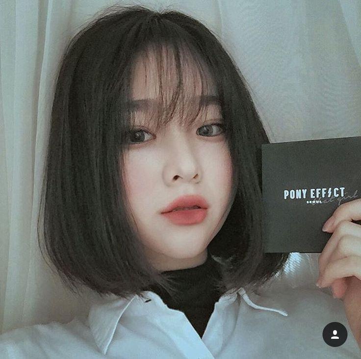 Best 25+ Korean Short Hair Ideas On Pinterest | Korean Short Inside Korean Hairstyles For Short Hair (View 6 of 20)
