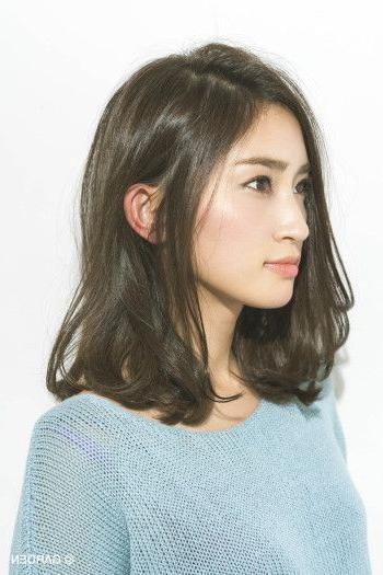 Best 25+ Korean Short Hair Ideas On Pinterest | Korean Short Inside Medium Korean Hairstyles (View 6 of 20)