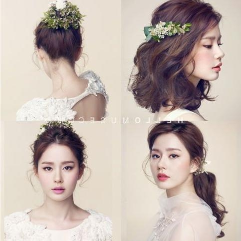Featured Photo of Korean Hairstyles For Wedding
