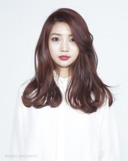 Best 25+ Long Asian Hairstyles Ideas On Pinterest   Asian Hair For Long Asian Hairstyles (View 8 of 20)
