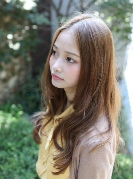 Best 25+ Long Asian Hairstyles Ideas On Pinterest   Asian Hair Pertaining To Long Asian Hairstyles (View 9 of 20)