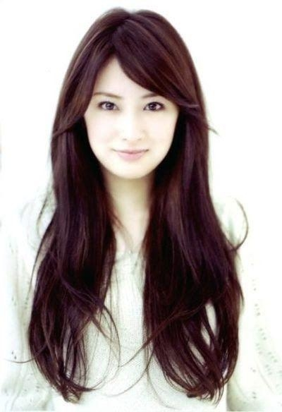 Best 25+ Long Asian Hairstyles Ideas On Pinterest   Asian Hair Throughout Long Korean Hairstyles (View 8 of 20)