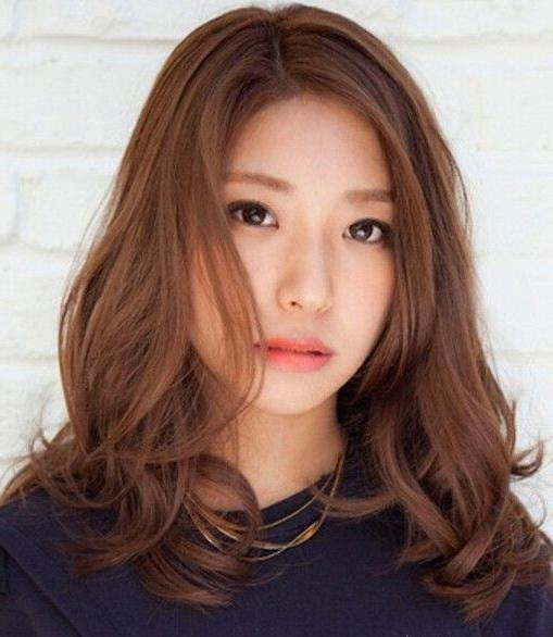 Best 25+ Long Asian Hairstyles Ideas On Pinterest | Asian Hair Within Asian Hairstyles For Long Hair (View 12 of 20)