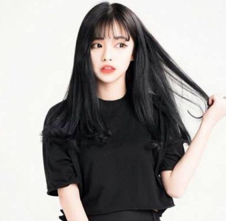 Best 25+ See Through Bangs Korean Ideas On Pinterest | Asian Bangs With Regard To Korean Haircuts Styles For Long Hair (View 16 of 20)