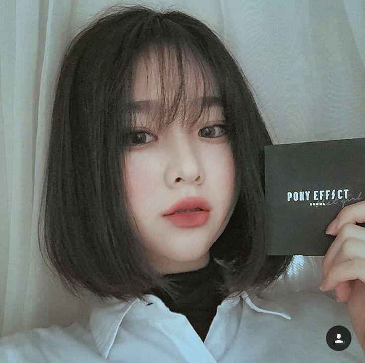 Best 25+ Short Hair Korean Style Ideas On Pinterest | Short Hair For Korean Hairstyles With Bangs (View 12 of 20)