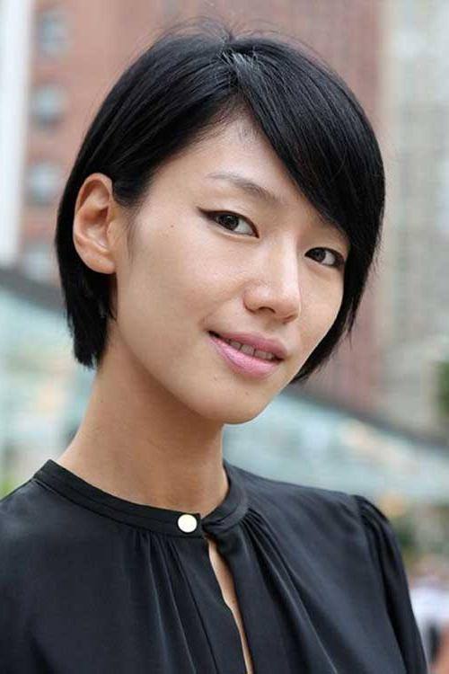 Chinese Bob Hairstyles 2015 – 2016 | Short Hairstyles 2016 – 2017 For Chinese Hairstyles For Short Hair (View 14 of 20)