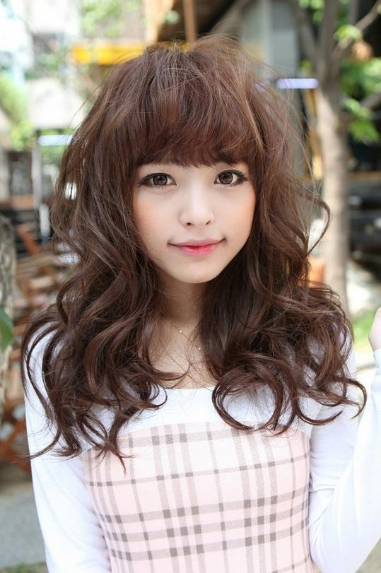 Cute Layered Asian Hairstyles 2013 – Hairstyles Weekly Inside Cute Asian Hairstyles (View 14 of 20)
