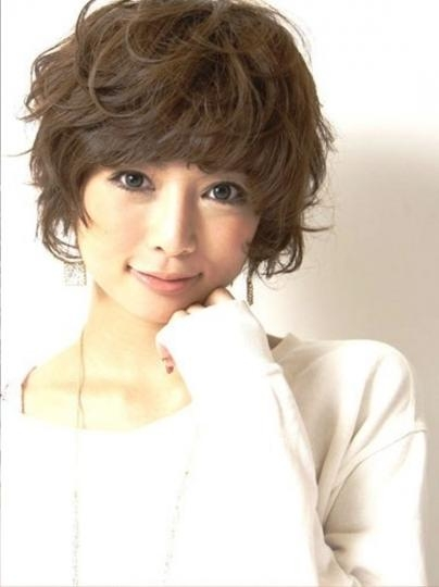 Cute Short Asian Hairstyles – Short Hairstyles Cuts For Cute Short Asian Haircuts (View 11 of 20)