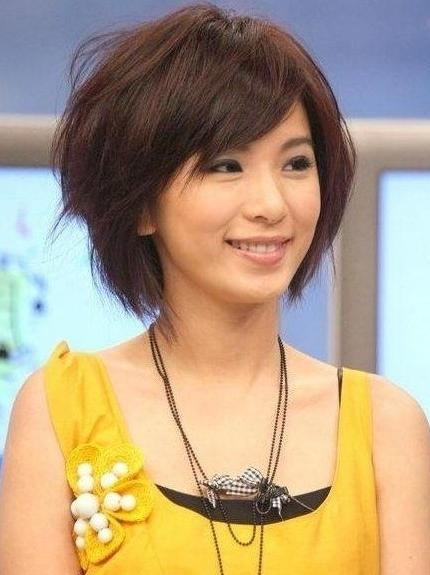 Cute Short Haircuts: Asian Hairstyles – Popular Haircuts Pertaining To Asian Haircuts For Short Hair (View 16 of 20)