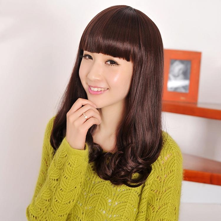 Elegant Fashion Chinese Korean Girls' Hot Sale Rinka Haircut With With Chinese Haircuts For Long Hair (Gallery 5 of 20)