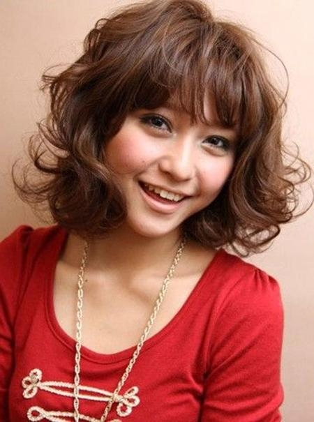 Good Asian Short Haircuts | Short Hairstyles 2016 – 2017 | Most Inside Curly Asian Hairstyles (Gallery 10 of 20)