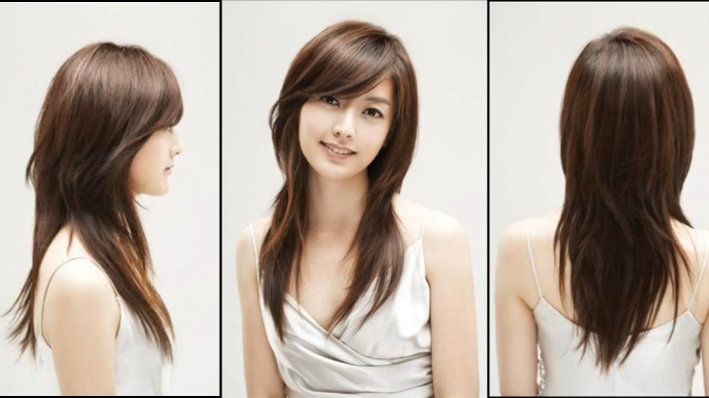 Haircuts For Long Hair For Oval Face – Popular Long Hairstyle Idea Regarding Long Layered Asian Hairstyles (View 13 of 20)
