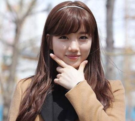 Hairstyles Beautiful Korean Bangs For Girls With Regard To Korean Hairstyles With Bangs (View 14 of 20)
