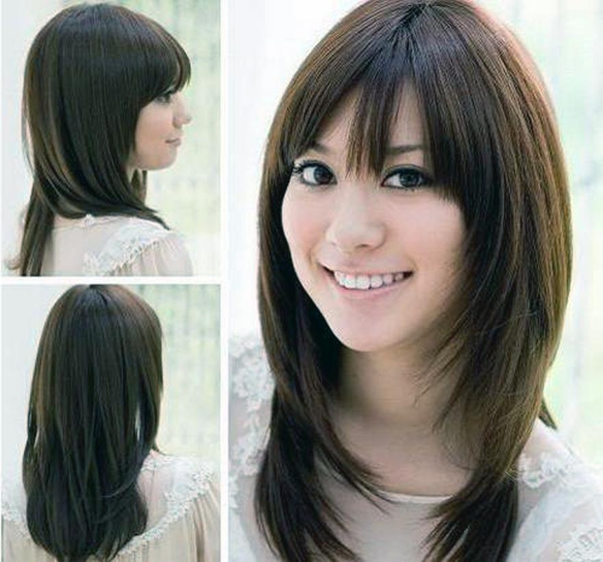 Hairstyles For Round Faces Short Hairstyle For Oval Faces Women In Korean Hairstyles For Chubby Face (View 12 of 20)