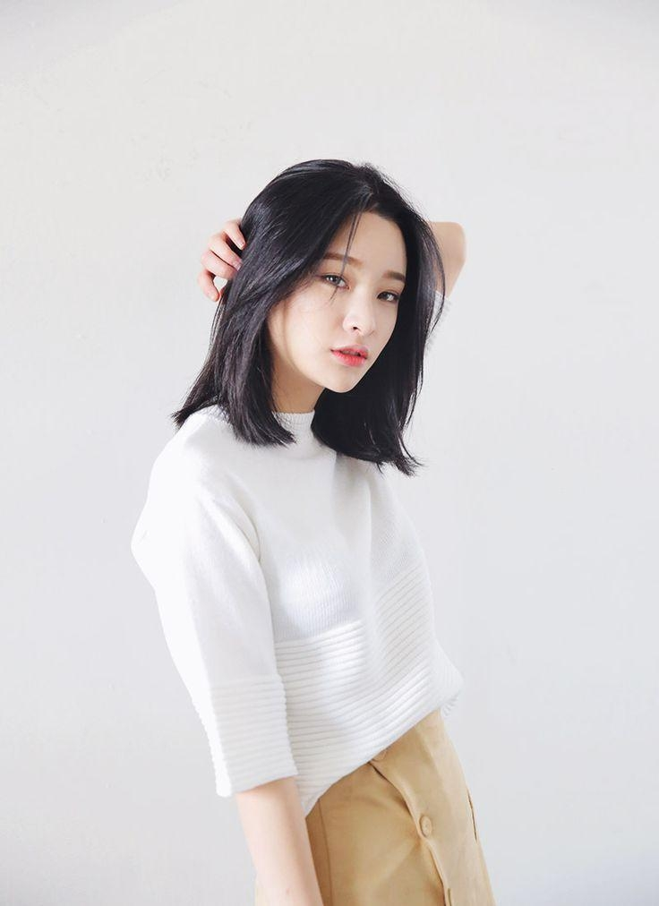 Hairstyles Ideas : Korean Hairstyles For Medium Hair Korean Within Medium Korean Haircuts (View 8 of 20)