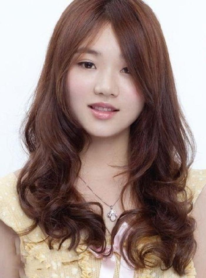 Ideas Of Korean Haircut Style For Round Face – Fashion & Trend With Regard To Girl Korean Hairstyles (View 15 of 20)