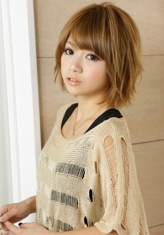 Japanese Hair Styles For Cute Korean Hairstyles For Short Hair (Gallery 17 of 20)