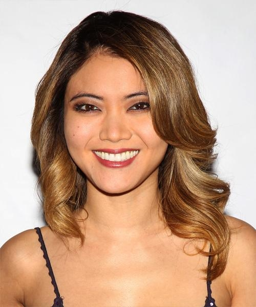 Jessica Lu's Blonde Hairstyle For Asian Women | Thehairstyler For Blonde Asian Hairstyles (Gallery 6 of 20)