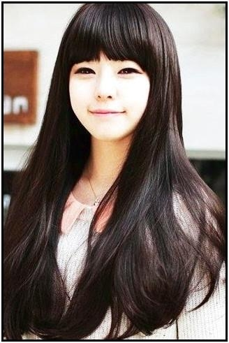 Korean Girls Hairstyles 2015 Pertaining To Cute Korean Hairstyles (View 16 of 20)
