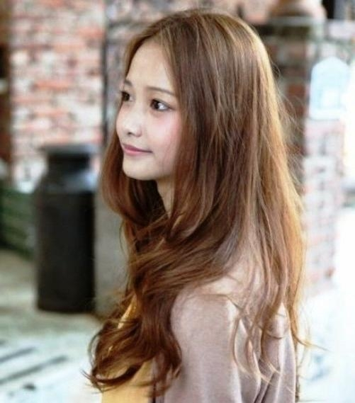 Korean Hairstyles For Women • Your Hair Club With Regard To Korean Haircuts For Women (Gallery 13 of 20)