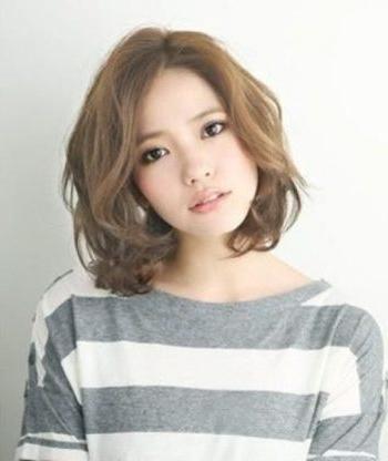Korean Short Hair Curl Regarding Haircut | Right Hs Regarding Korean Hairstyles For Short Hair (View 15 of 20)