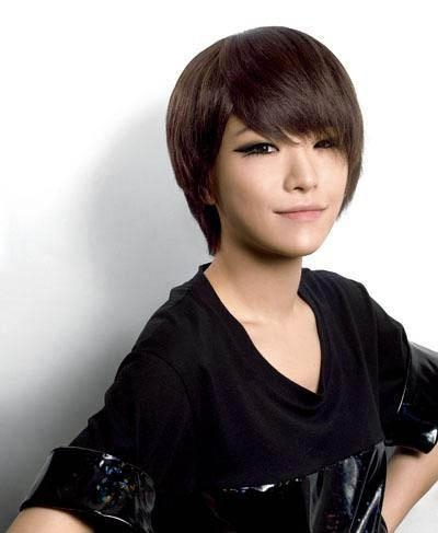 Korean Short Hairstyles For Girls Inside Short Korean Hairstyles For Girls (View 13 of 20)