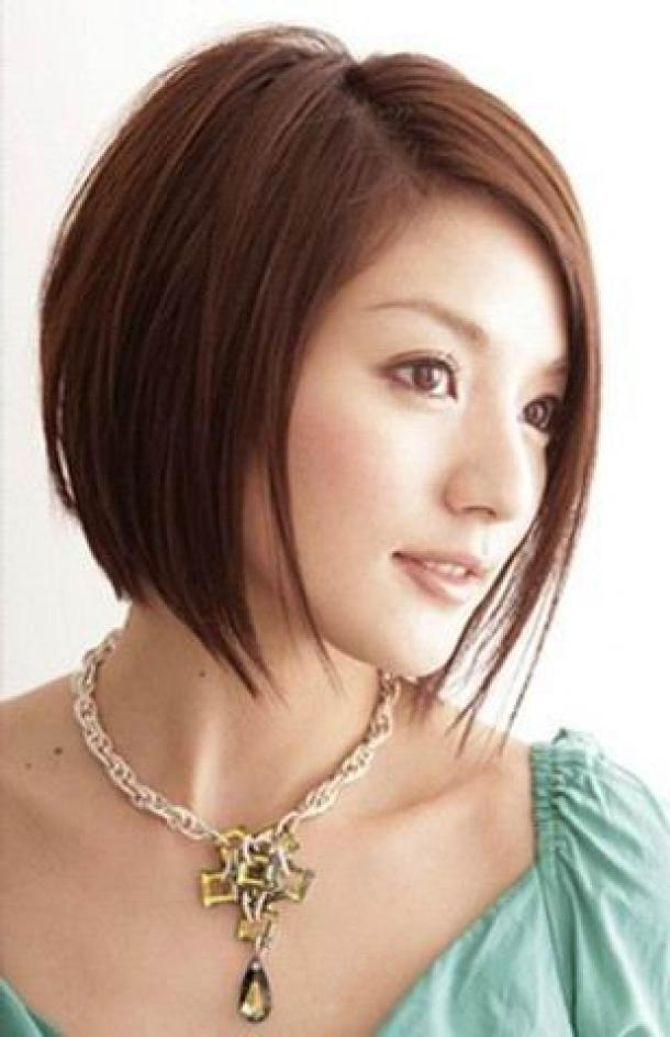 Korean Women Hairstyles Short Throughout Short Female Asian Hairstyles (View 18 of 20)