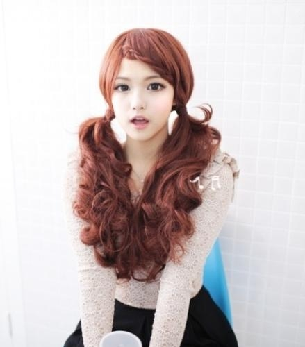 Latest Korean Girl Hairstyles – Lolita Ponytail – Latest Hair For Cute Asian Hairstyles (View 16 of 20)