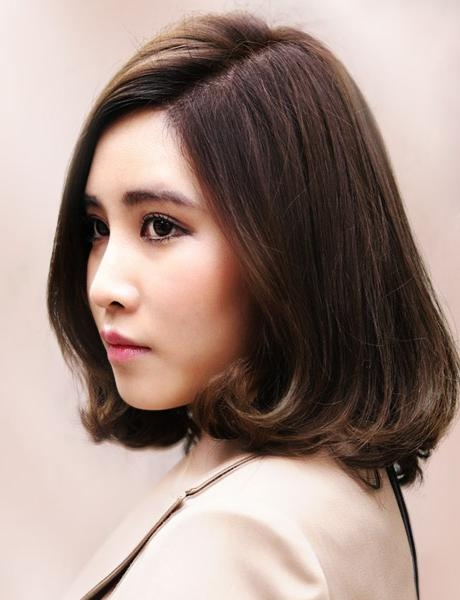 Latest Korean Hairstyles For Women 2015 Images In Korean Haircuts For Women (View 18 of 20)