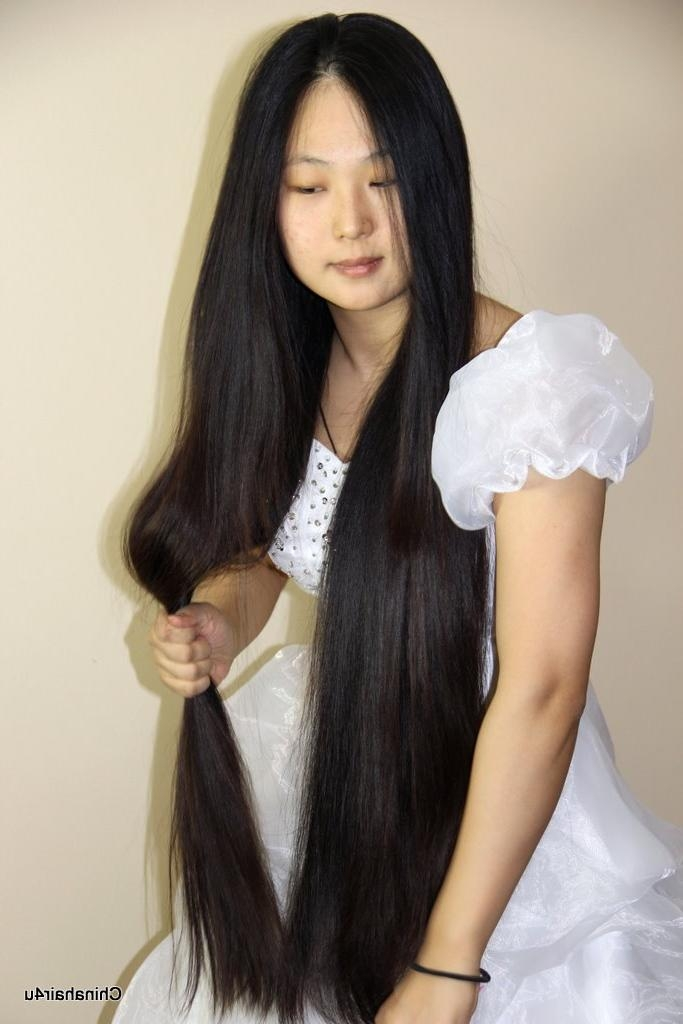 Long Hair, Hair Show, Haircut, Headshave Video Download Within Chinese Haircuts For Long Hair (View 19 of 20)