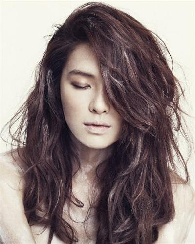 Long Korean Hairstyles For Girls 2   Cecomment Regarding Long Korean Hairstyles (View 16 of 20)