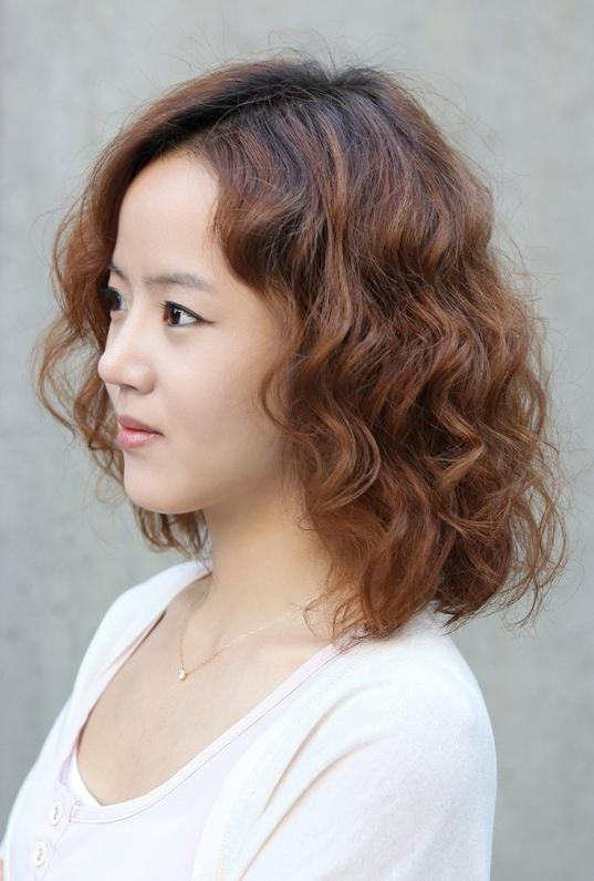 Lovely Short Curly Hairstyles For Women – Hairstyles Weekly Throughout Short Wavy Asian Hairstyles (View 14 of 20)