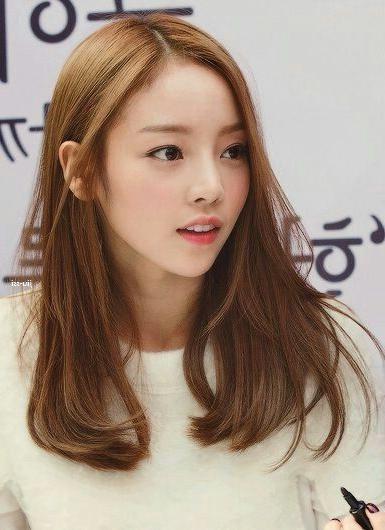 Medium Long Hair   Hair   Pinterest   Medium Long Hair, Medium With Regard To Long Korean Hairstyles (View 17 of 20)