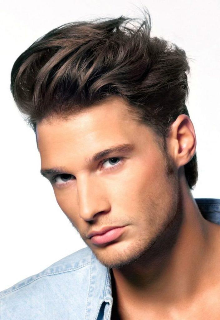 Men Hairstyle : New Asian Hairstyle For Round Face Man Hair Style In New Asian Hairstyles (View 15 of 20)