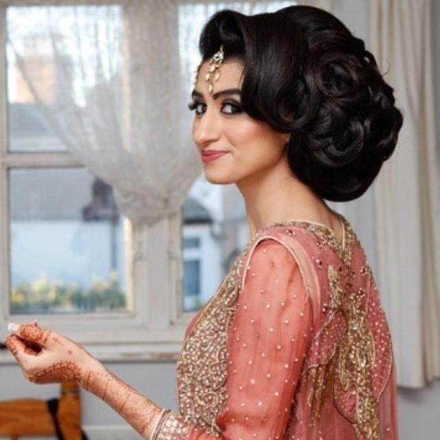 November | 2014 | Saira Rahman Hairstylist Asian Bridal Pertaining To Asian Hairstyles For Wedding (View 17 of 20)