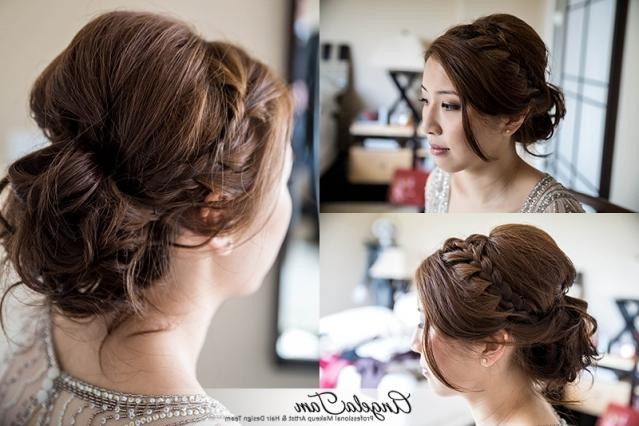 Orange County Wedding Asian Bride Makeup Artist – Natural Blushing Regarding Asian Hairstyles For Wedding (View 18 of 20)