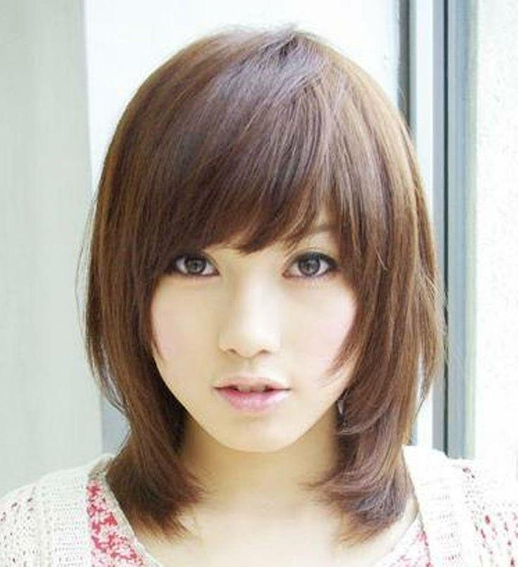 Photo Gallery Of Cute Asian Haircuts For Girls (Viewing 14 Of 15 Inside Cute Asian Haircuts With Bangs (View 17 of 20)