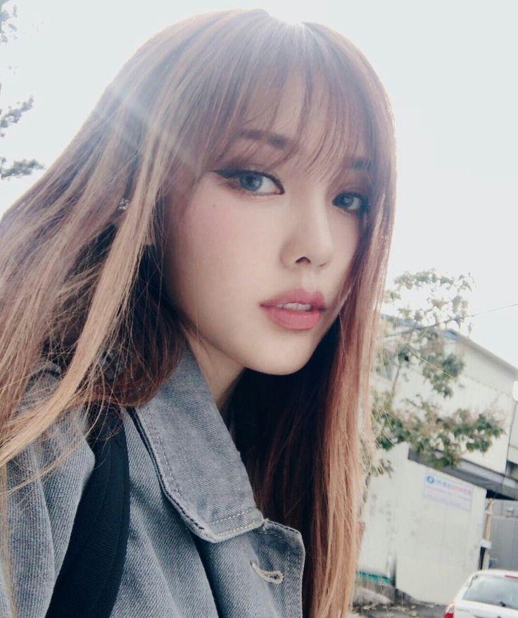 20 Best of Korean Haircuts With Bangs