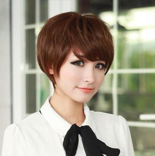 Popular Korean Short Hairstyles In 2016 Asian Wavy Curly Haircut With Asian Hairstyles With Short Bangs (View 16 of 20)