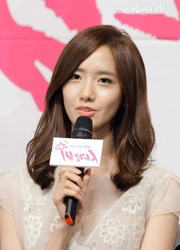 Pretty Medium Korean Hairstyles Regarding Medium Korean Haircuts (View 17 of 20)