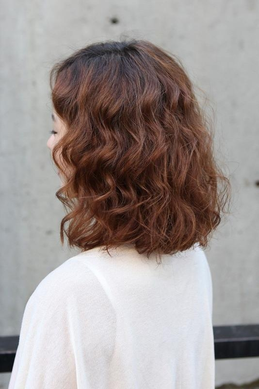 Short Asian Curly Hairstyle 2013 – Hairstyles Weekly In Short Wavy Asian Hairstyles (View 17 of 20)