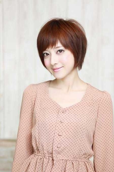 Short Hairstyles For Asian Women | Short Hairstyles 2016 – 2017 In Short Bob Asian Hairstyles (View 20 of 20)