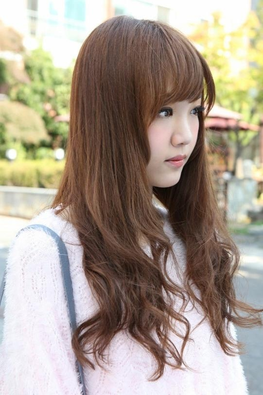 Side View Of Korean Hairstyles 2013 – Hairstyles Weekly Inside Cute Korean Hairstyles For Long Hair (View 18 of 20)