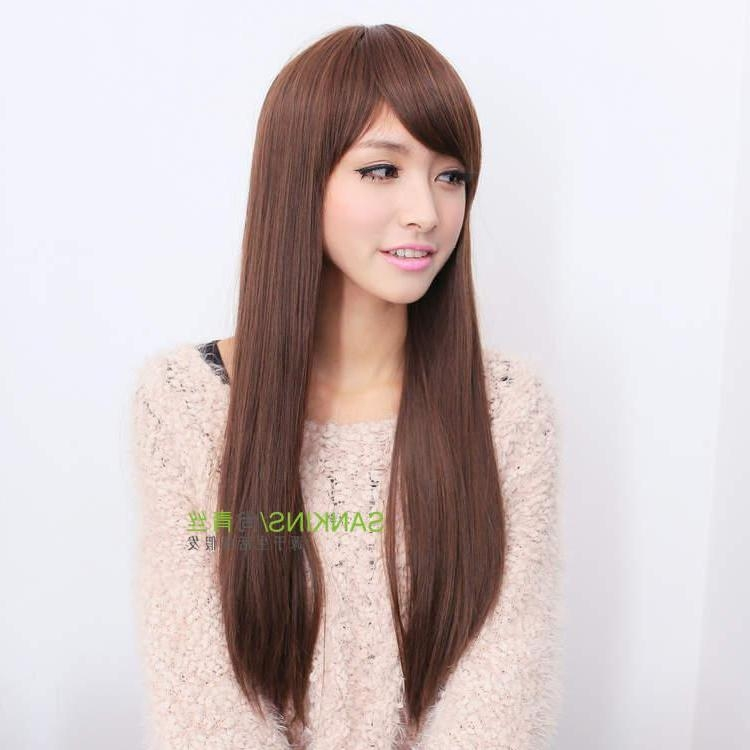 Splendid Korean Straight Hairstyles For Girls | Nationtrendz Pertaining To Straight Korean Hairstyles (View 16 of 20)
