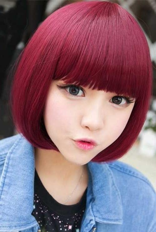 Sweet & Romantic Asian Hairstyles For Young Women – Pretty Designs Within Cute Asian Haircuts With Bangs (View 19 of 20)