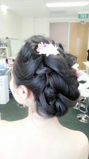 The 25+ Best Asian Wedding Hair Ideas On Pinterest | Asian Bridal Regarding Asian Hairstyles For Wedding (View 19 of 20)